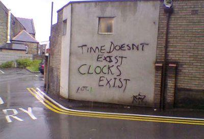 Il tempo non esiste, esistono gli orologi