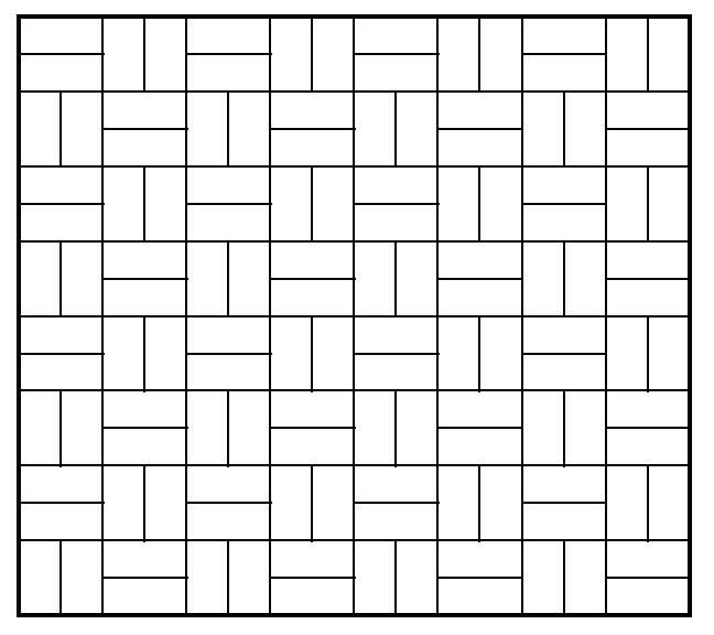 basketweave tile layout to break away from metro tile tyranny...