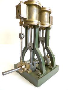 antique engine | ... -VINTAGE-MARINE-STEAM-ENGINE-for-a-steam-launch-a-nice-antique-engine