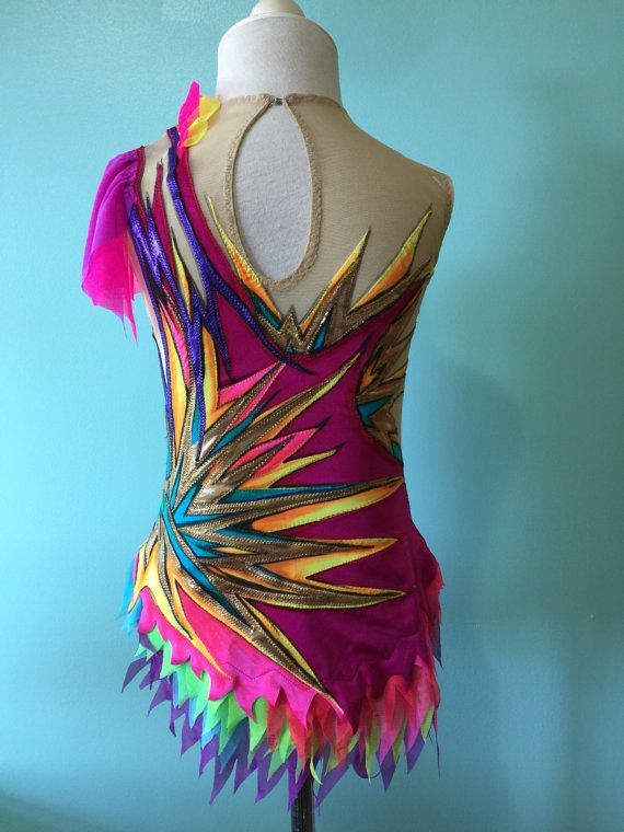 Competition Dance Costume SOLD