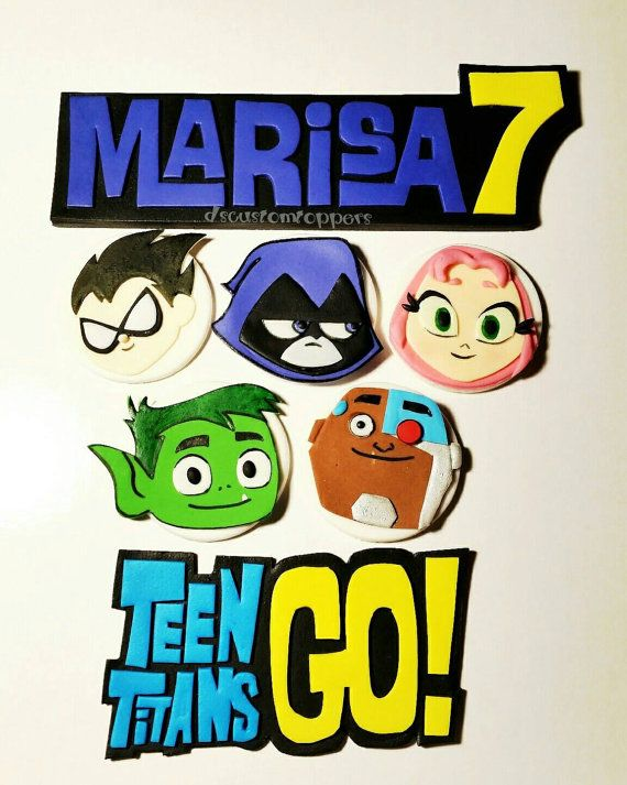 16 Best Teen Titans Go Birthday Party Images On Pinterest  Teen Titans -4841