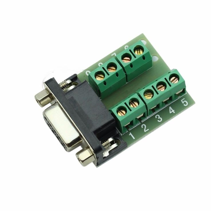 RS-232 Serial Port Interface Breakout Board Connector DB9 9-pin Female Adapter #Jasava