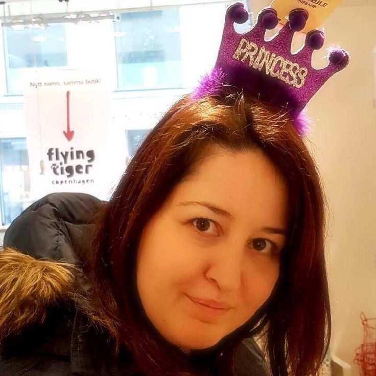 What do you need to #feel like a little #princess? Just a #purple #crown