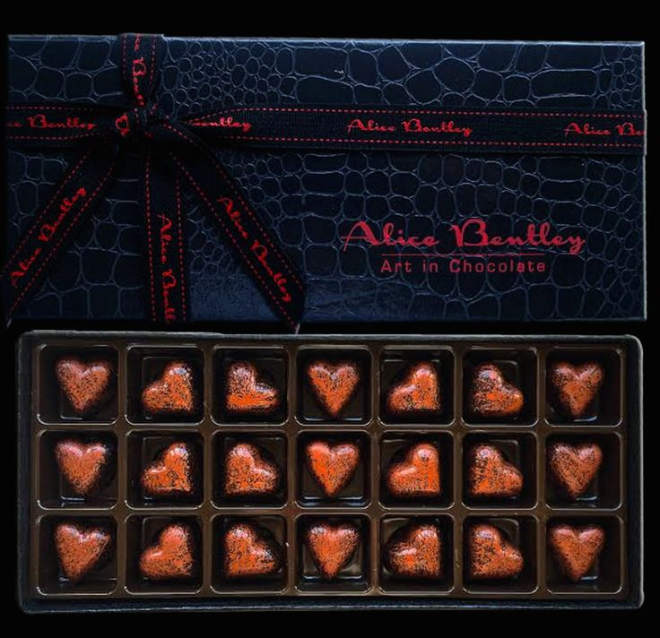 The Bronze Hearts www.alicebentleychocolates.com