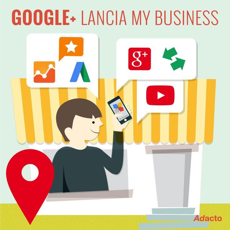 Con My Business ora è possibile recuperare tutte le informazioni e gestire al meglio la propria presenza online grazie ai servizi di Google (Maps, Google+, YouTube, Insights) da un unico punto di riferimento. #tips4busines