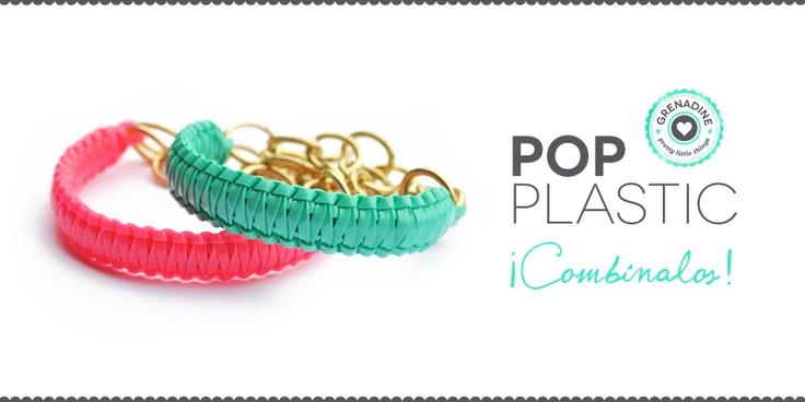 plastic lace bracelets