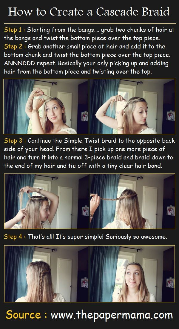 Styling a Cascade Braid | Beauty Tutorials