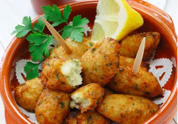 cod, spanish salted cod fritters, seafood recipe, appetizer recipes ...