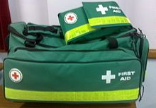 First Aid -- wikipedia.  Great list of supplies to have