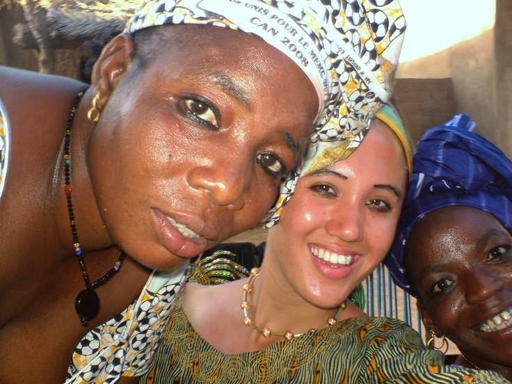 #PotentialistCanada - Trip Purpose 3: Working for women's empowerment - Attending an event with my host family (environmental sustainability project run through Canada World Youth in Mali)