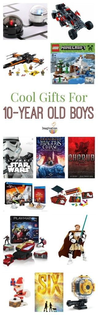 Time to buy a gift for your 10 year old boy but what? From books to robotics to games, this list of gift ideas for 10 year old boys will help you find that perfect gift!
