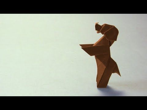 "Origami Instructions: Standing Dog ""Down Boy!"" (Paul Frasco)"