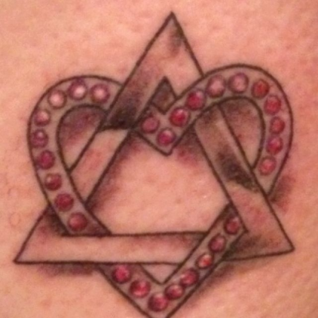 My adoption symbol tattoo