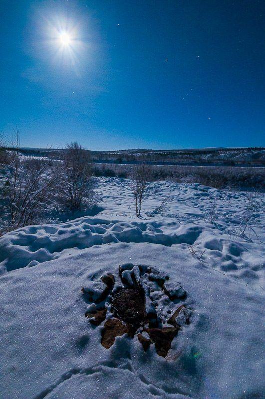 Winter wonderland in -34 #Karasjok #Norway #Photography