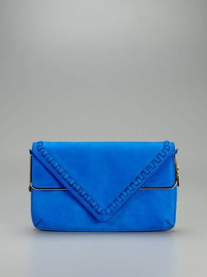 This Brian Atwood clutch on Gilt is gorgeous! I love this color!: Triangles Clutches, Blue Clutches, Jewelry Shoes Handbags, Accessories Makeup, Bags Clutches Accesscori, Brian Atwood, Blue Suede, Atwood Carla, Atwood Clutches