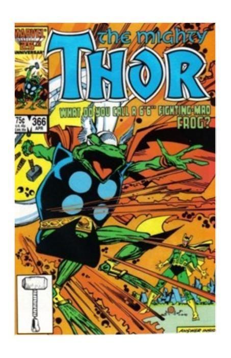 Thor #366 (Apr 1986, Marvel) - FVF