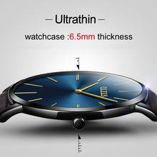OLEVS Brand Luxury Quartz watch men Business Casual Black Japan quartz-watch genuine leather ultra thin clock male New //Цена: $17 руб. & Бесплатная доставка //  #смартфоны #gadget