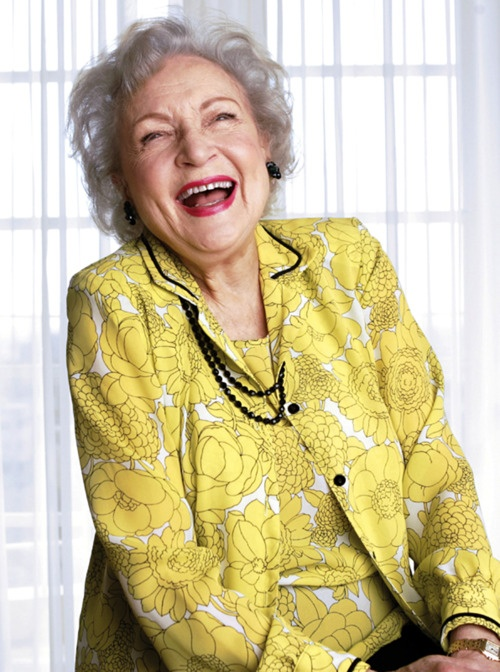 Betty White is definitely not typical, but is an inspiration.