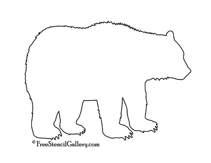 25 best ideas about Bear Silhouette on Pinterest  Bear tattoos