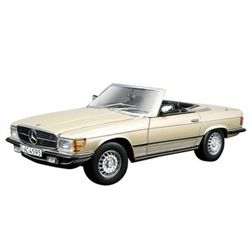 Mercedes Benz 450SL Champagne   BBURAGO 1:32 Diecast Model Car