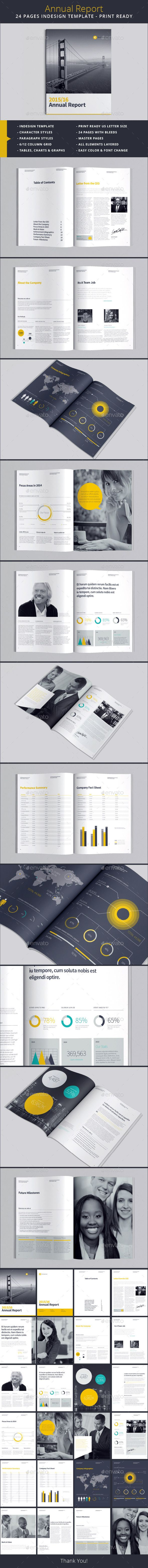 Annual Report Template — InDesign INDD #pie charts #annual report • Available here → https://graphicriver.net/item/annual-report-template/13308774?ref=pxcr