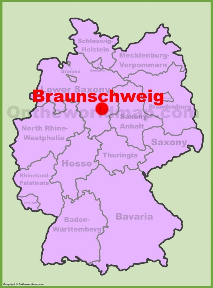 Fabulous Braunschweig location on the Germany map