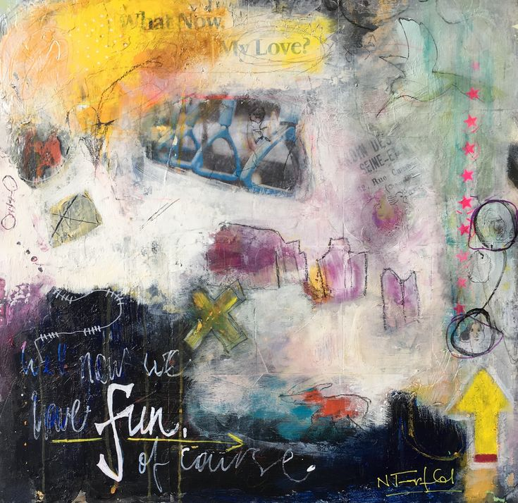 """""""What Now?"""" by Nicole Fearfield. Paintings for Sale. Bluethumb - Online Art Gallery"""