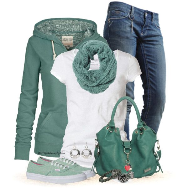A fashion look from September 2013 featuring Fat Face hoodies, AllSaints t-shirts and Rich & Royal jeans. Browse and shop related looks.
