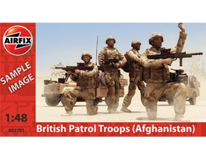 The Airfix British Army Troops Model Figures in 1/48 scale from the plastic figure models range accurately recreates the real life modern British soldiers. This set contains 8 figures.    This plastic figures kit requires paint and glue to complete.