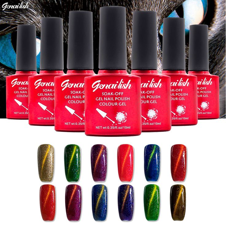 Nail Gel 2  36 Colors Nail Gel Polish Magnetic Cat Eye Gel Long-lasting UV Gel Soak-off 10ML/PCS-NKGQ ** Find similar products by clicking the image