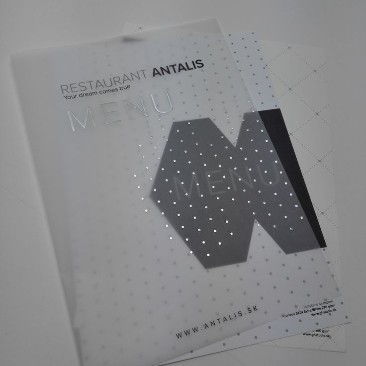 Hotelová zložka ANTALIS
