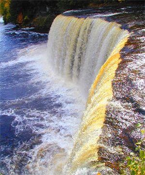 michigan sites to visit | Tahquamenon Falls, Upper Michigan Water Falls, Upper Michigan ...