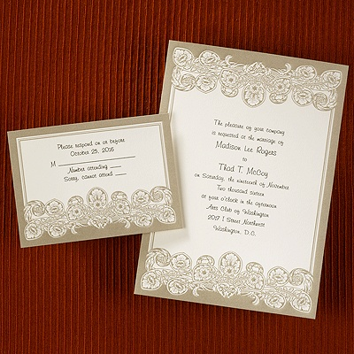 67 best images about carlson craft wedding invites on pinterest, Wedding invitations