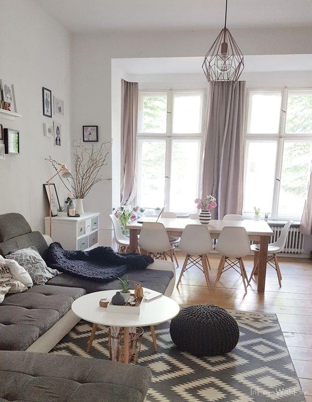 Kleine Roomtour durch das Wohnzimmer von Bloggerin…