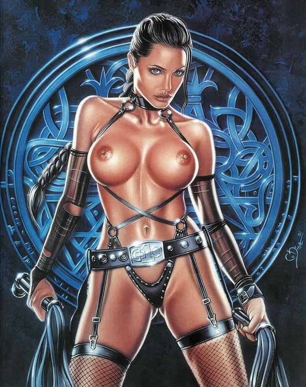 Angelina jolie dessin animé sexe