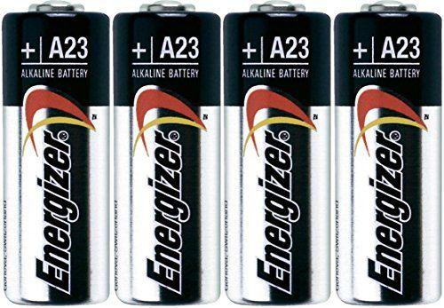 Energizer A23 Battery, 12 Volt - 4 Batteries