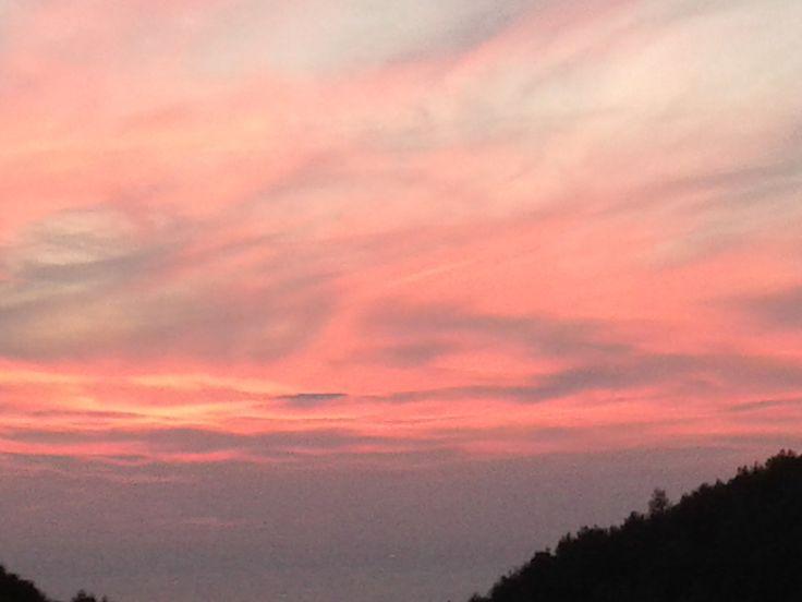 red sky at night - #House Of Virgin Mary  #kusadasi  #ephesus  #Turkey