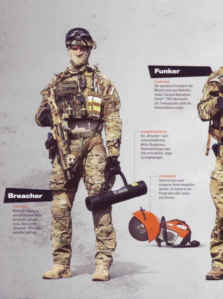 "Bundeswehr Kommando Spezialkräfte KSK (German Army SF) ""breacher"" hires ==> http://abload.de/img/1gr13k0f.jpg"
