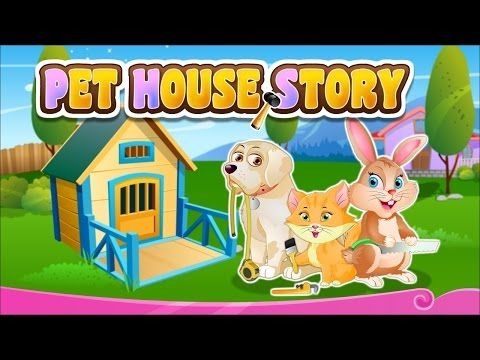 Pet House Story | Animated Movies for Children | Short Story by Baby Hazel Cartoons - (More info on: http://LIFEWAYSVILLAGE.COM/movie/pet-house-story-animated-movies-for-children-short-story-by-baby-hazel-cartoons/)