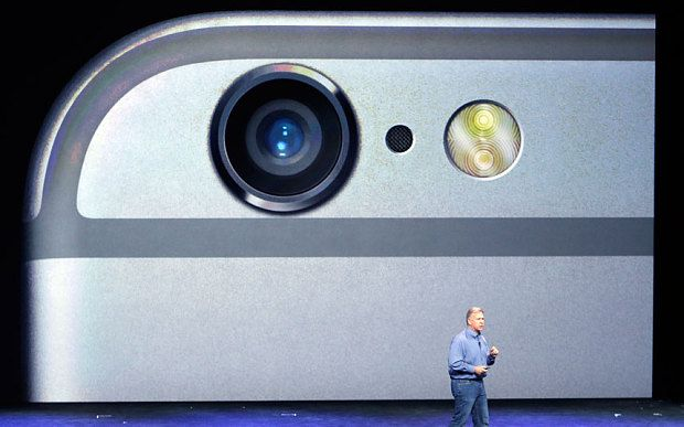 Apple also uses sapphire glass in the protective cover over the iPhone's camera sensor. http://www.telegraph.co.uk/technology/apple/11158218/Apples-iPhone-based-Pay-launches-this-week.html