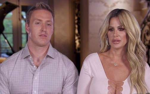 Kim Zolciak and husband Kroy Biermann's son's face pictures,Attacked by their dog Sinn
