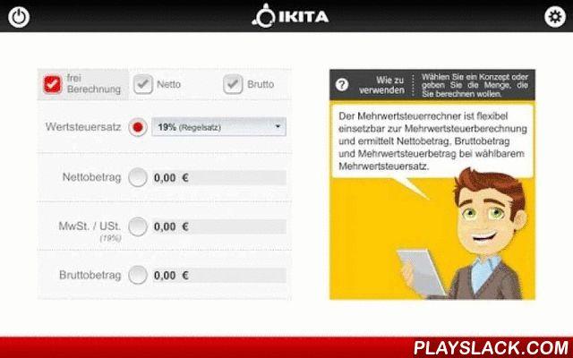 Umsatzsteuer Rechner Germany  Android App - playslack.com , • Die Anwendung ist für die Berechnung der Mehrwertsteuer in Deutschland eingesetzt. Die Berechnung kann vom Bruttogesamt gemacht werden, beginnend über die Mehrwertsteuer oder der Nettogesamt• Sie können die Mehrwertsteuer von 19%, 7% berechnen oder berechnen einen anderen Prozentsatz• Die Anwendung verfügt über Tasten, die Sie sich einen Überblick über die Konzepte sehen können. Dies ist sehr nützlich, wenn Sie nicht wissen, in…