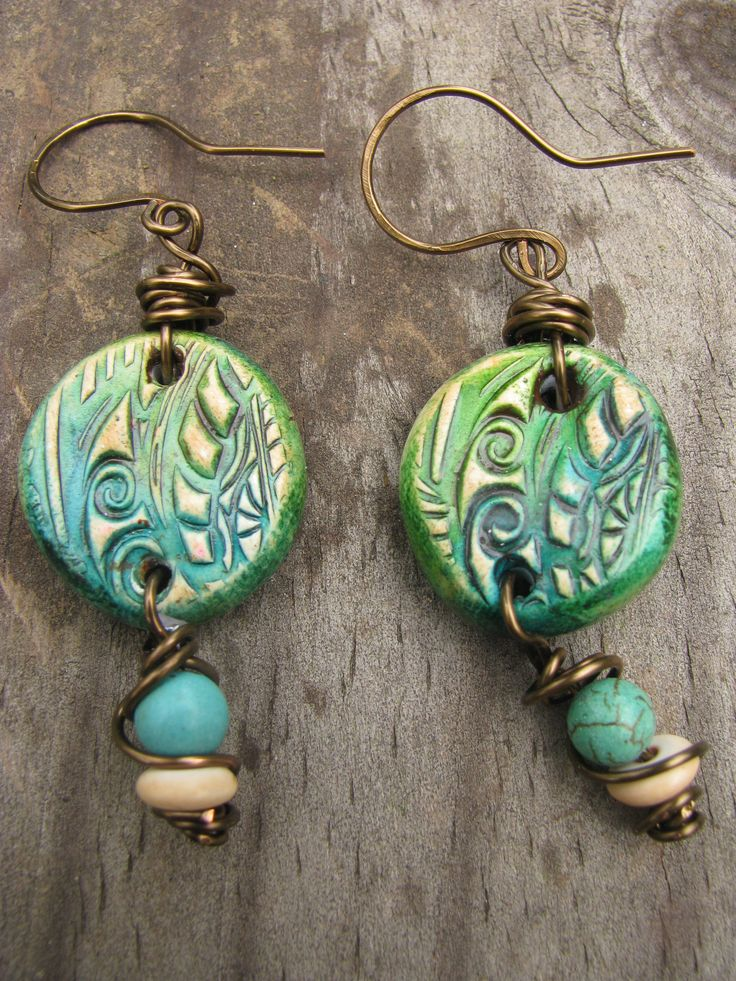 Spontaneous Soul Mixed Media Polymer Clay Rustic Bohemian ...