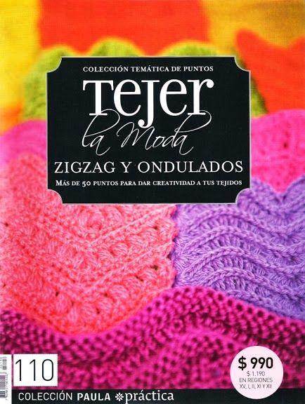 Revistas de manualidades Gratis: tejer la moda, zigzag y ondulados