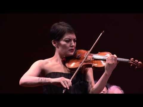 ▶ Anne Akiko Meyers Plays 'Spiegel im Spiegel' (Mirror in Mirror) by Arvo Pärt from 'Smile' - YouTube (This piece is absolutely mesmerizing!)