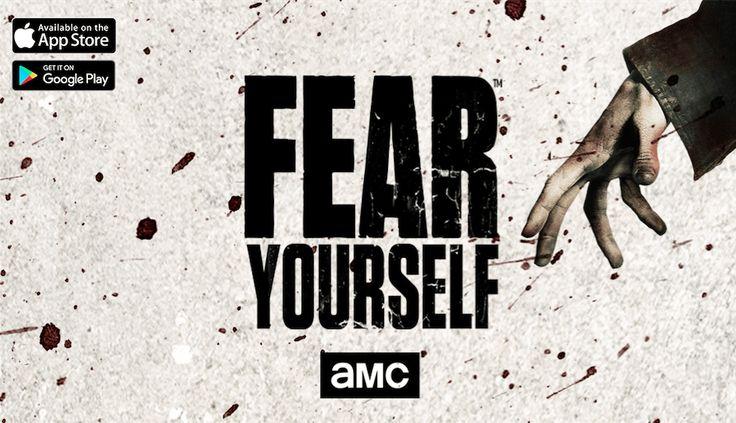 """Conoce """"Fear Yourself"""" la nueva App basada en Fear The Walking Dead #App #Series"""