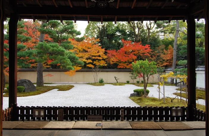 廬山寺 紅葉の源氏の庭