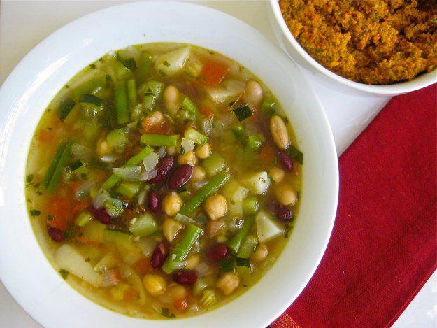 Scott Brick Recipes | Vegan Pistou Soup Recipes | Healthy Blender Recipes