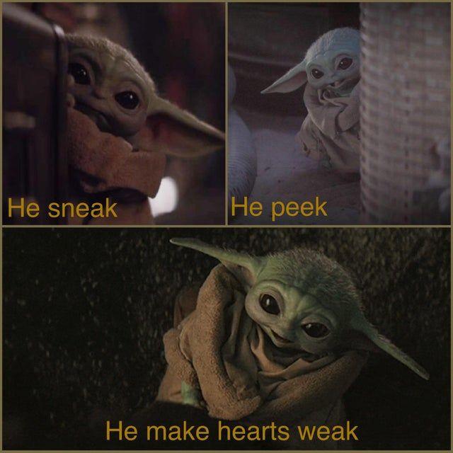 Our Favorite Baby Babyyoda Yoda Funny Yoda Meme Star Wars Baby