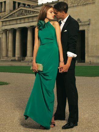 Schnittmuster: Abendkleid - Neckholder - Gehschlitz - Abendkleider - Festliche Mode - Damen - burda style